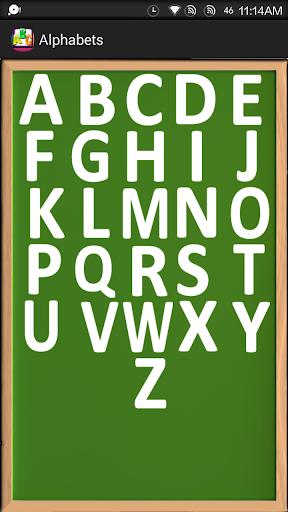 Learn English Alphabets