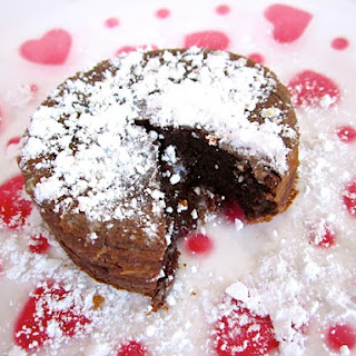 Chocolate Lava Cake For Two (or One)
