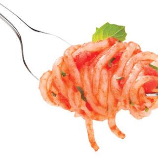 Shirataki Spaghetti with Marinara Sauce
