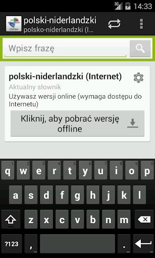 Polsko-Niderlandzki słownik