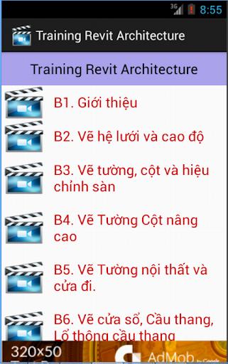 Hướng dẫn Revit Architecture