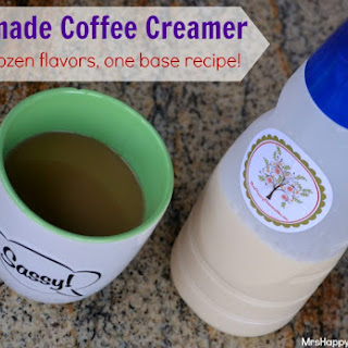 Homemade Coffee Creamer – Over 2 Dozen Flavor Varieties!