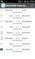 Screenshot of Marseille Foot News