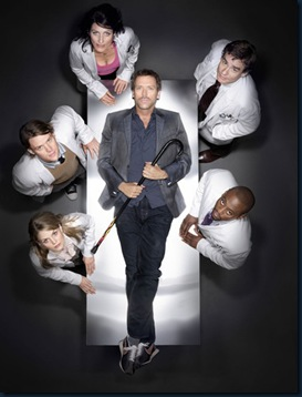 HOUSE:  Clockwise from center:  Hugh Laurie, Robert Sean Leonard, Omar Epps, Jennifer Morrison, Jesse Spencer, Lisa Edelstein.  The fourth season of HOUSE premieres Tuesday, Setp. 25 (9:00-10:00 PM ET/PT) on FOX.  ©2007 Fox Broadcasting Co.  Cr:  Art Streiber/FOX