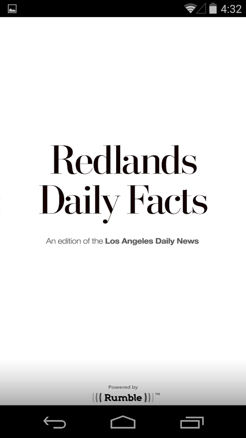 Redlands Daily Facts - screenshot