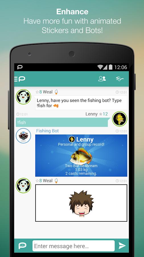 Palringo Group Messenger - screenshot