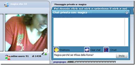 video sessualità maschile chat amigos senza registrazione