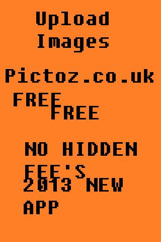 Upload Images - Pictoz.co.uk