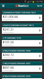 EverBank Mobile- screenshot thumbnail