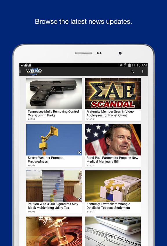 WBKO News- screenshot