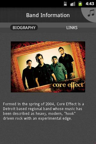 Core Effect - screenshot