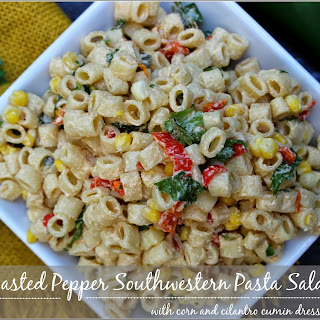 Roasted Pepper Southwestern Pasta Salad