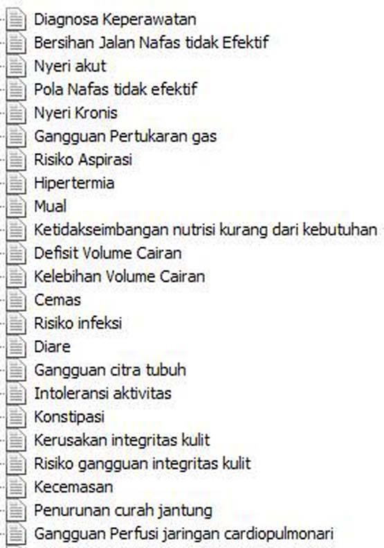 Diagnosa Keperawatan- screenshot