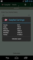Screenshot of EasySal Salary Calculator
