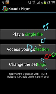 Ulduzsoft Karaoke Player Paid - náhled
