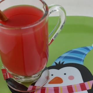 Holiday Punch CrockPot Recipe (non-alcoholic).