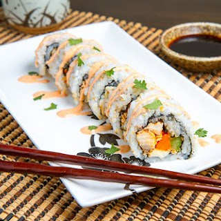 Buffalo Chicken Sushi Recipe