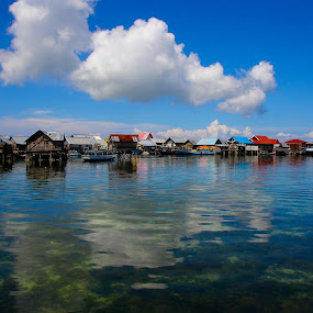 row houses Bajo tribe by Miun Srv - Landscapes Waterscapes (  )