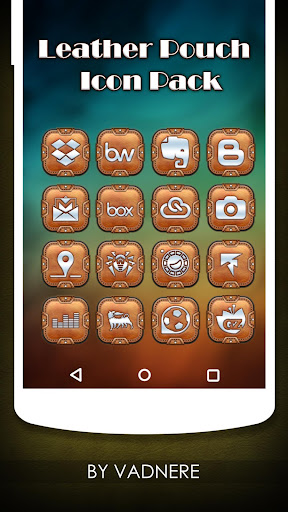 Leather Pouch TSF-Icon Pack