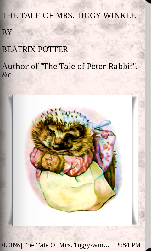 The Tale Of  Mrs. Tiggy-winkle- screenshot