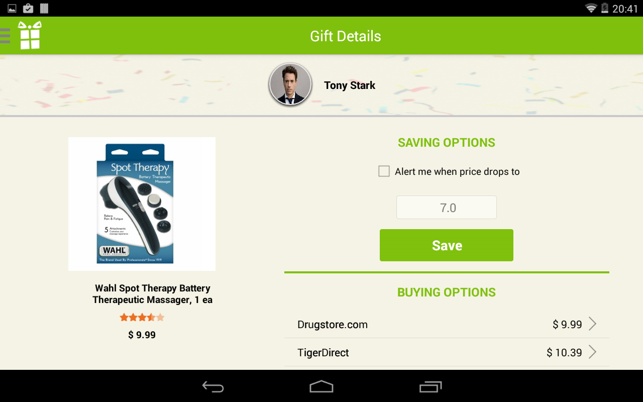 El Gifto - Gift Ideas Guru - screenshot