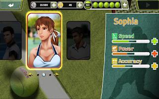 Screenshot of Holic Tennis