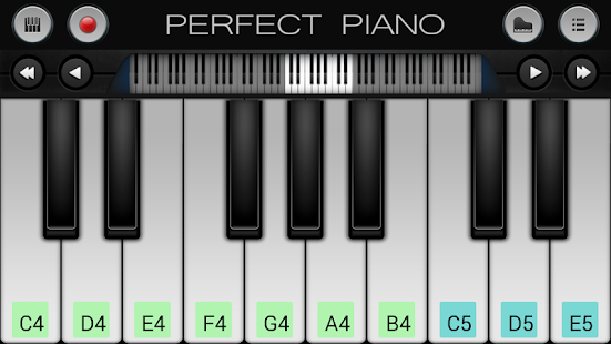 Game Perfect Piano APK for Kindle