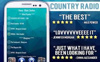 Screenshot of Free Country Radio