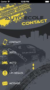 Auto Ecole Contact - náhled