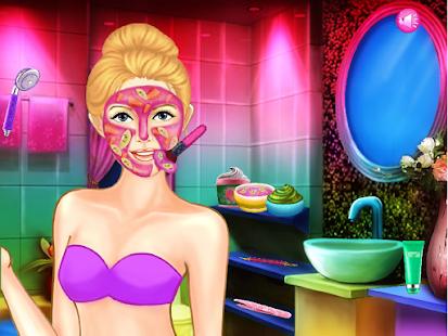Pink Heart Lady Makeup- screenshot thumbnail