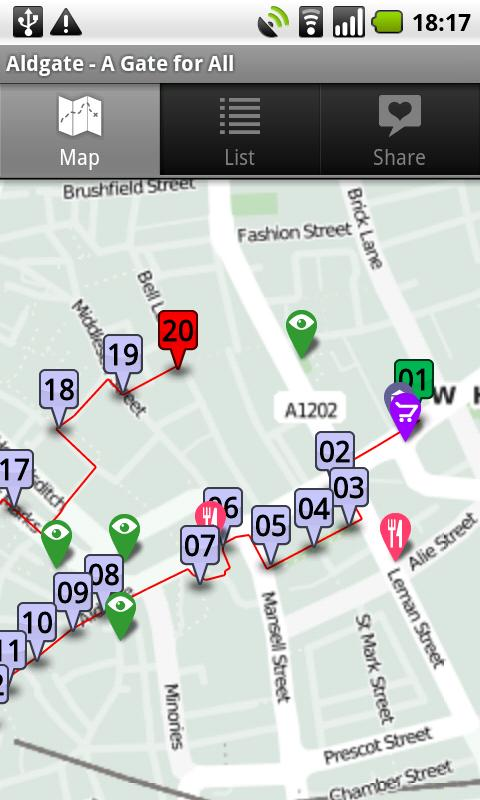 reaLondon's Mobile Explorer- screenshot
