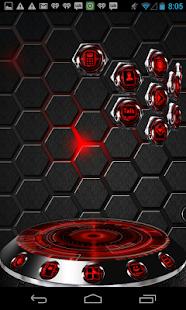 Next Launcher 3D Theme RedKrom|玩個人化App免費|玩APPs