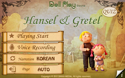 Doll Play books Hansel Gr LITE