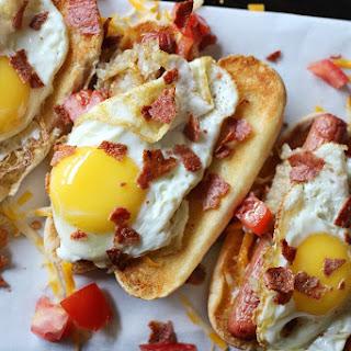 The Ultimate Breakfast Hotdog