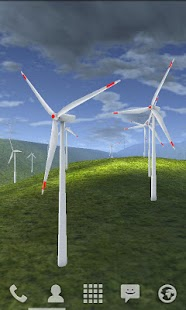 Wind Turbines 3D Live Wallpaper- screenshot thumbnail