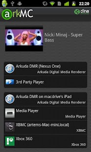 ArkMC LITE UPNP Media Center - screenshot thumbnail