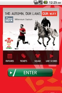 The Official WRU App - screenshot thumbnail