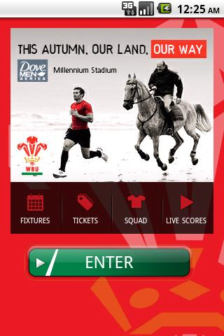 The Official WRU App - screenshot