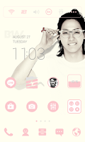 Screenshot of B1A4 - Cnu LINE Launcher Theme