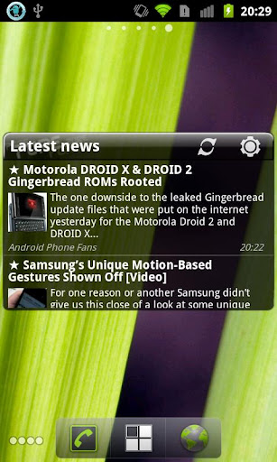 Pure news widget (scrollable) v1.2.0