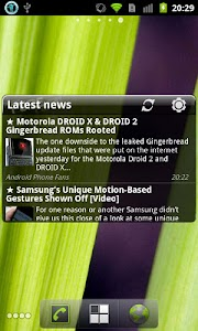 Pure news widget (scrollable) v1.4.6