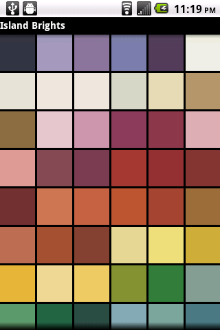 Paint Colors Screenshot