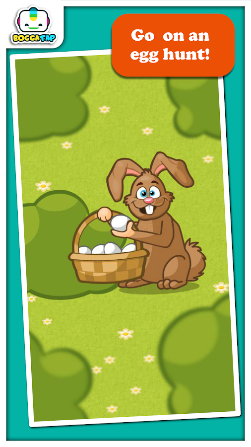 Bogga Easter game for toddlers- screenshot