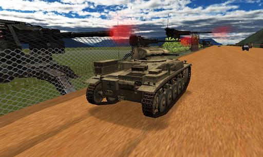 Tank Wars Game 3d