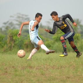 trough... by Danang Kusumawardana - Sports & Fitness Soccer/Association football