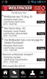 The Wolfpacker Mobile - screenshot thumbnail
