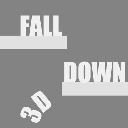 Fall Down 3D 休閒 App LOGO-APP試玩