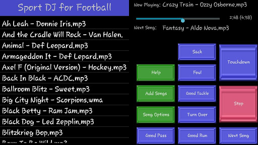 Sport DJ for Football