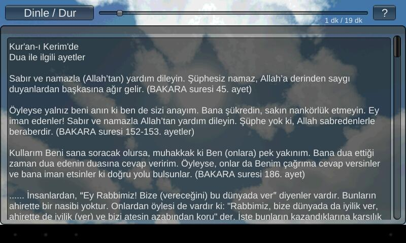 Kur'an-ı Kerim'de DUA- screenshot
