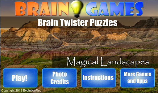 Magical Landscapes: Puzzles